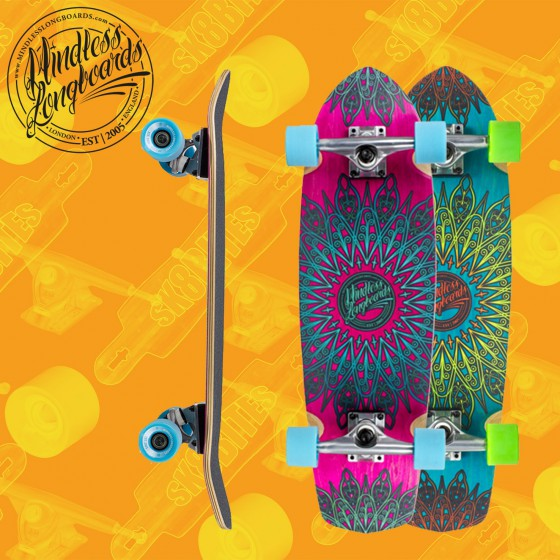 "Mindless Stained Daily 24"" Tavola Completa Skateboard Cruiser"