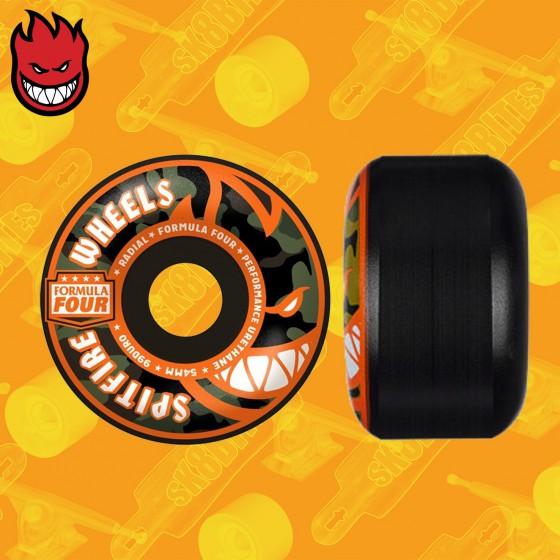 Spitfire Hellfire Radials 56mm 99DU Ruote Skateboard Street