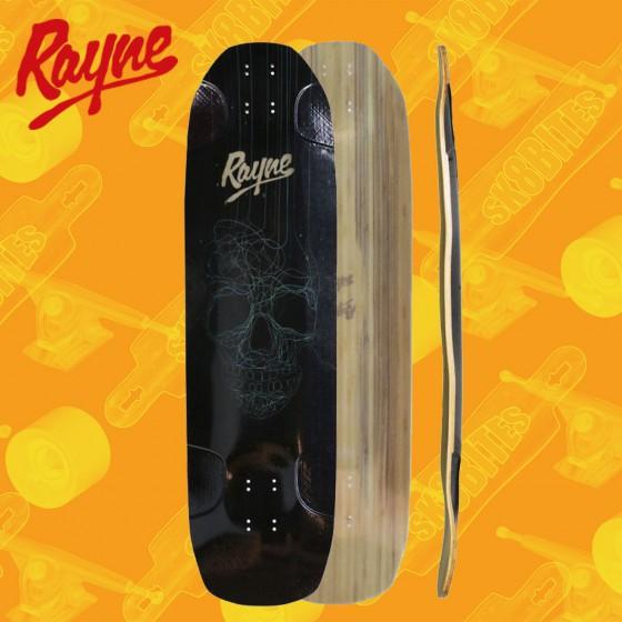 "Rayne Darkside V3 Skull 36"" Longboard Freeride Deck"
