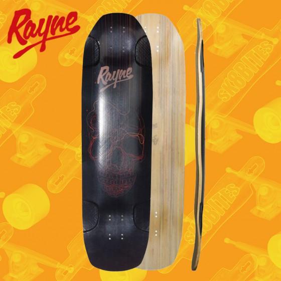 "Rayne Darkside V3 Skull 36"" Tavola Longboard Freeride"