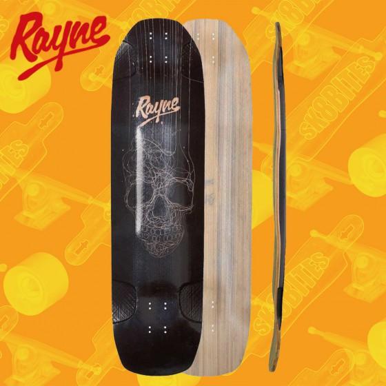 "Rayne Darkside V3 Skull 34"" Longboard Freeride Deck"