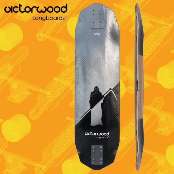 """Victorwood Spirit 35,4"""" Tavola Longboard Freeride Slide"""