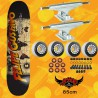 "Plan B Felipe World 8.25"" Independent Trucks Tavola Completa Skateboard Street"