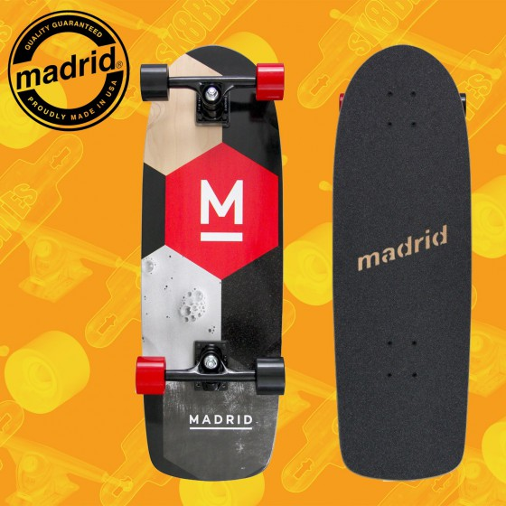 """Madrid Marty 29"""" Complete Cruising Carving Deck"""