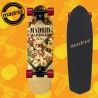"""Madrid Picket Orchid Mini 28"""" Complete Cruising Carving Deck"""