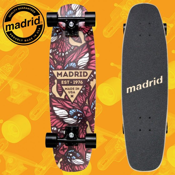 """Madrid Squirt 29"""" Flutter Complete Cruising Carving Deck"""