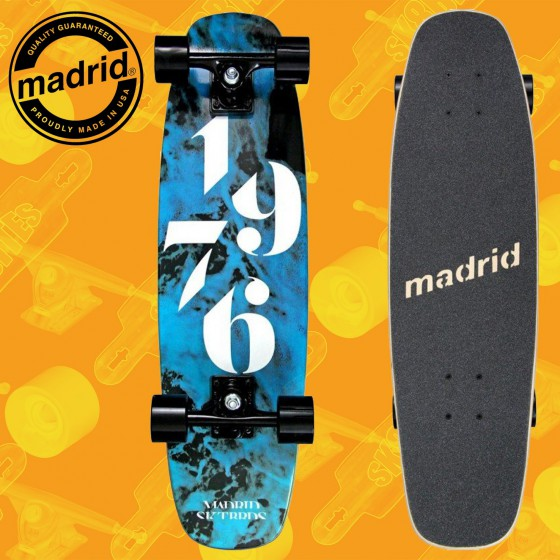 """Madrid Squirt 29"""" Smoke Complete Cruising Carving Deck"""