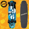 "Madrid Squirt 29"" Smoke Tavola Completa Cruising Carving"