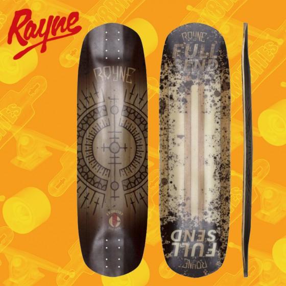 "Rayne Brightside 34"" Longboard Freeride Deck"