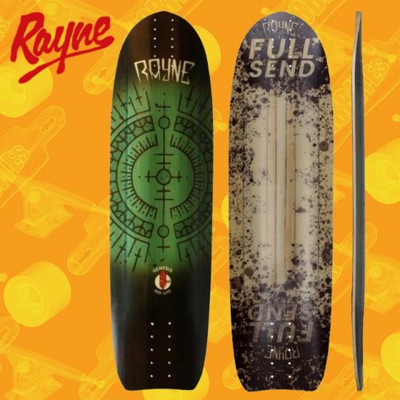 "Rayne Exorcist Full Send Deelite 34"" Longboard Freeride Deck"