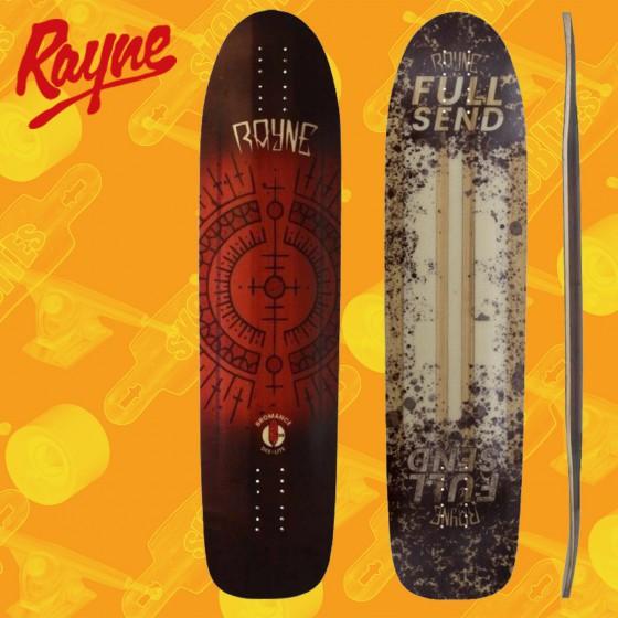 """Rayne Exorcist Full Send Deelite 34"""" Tavola Longboard Freeride"""