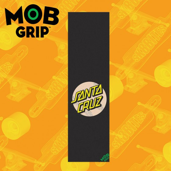 Mob Grip Tape Santa Cruz 9in x 33in Graphic Adesivo Skateboard