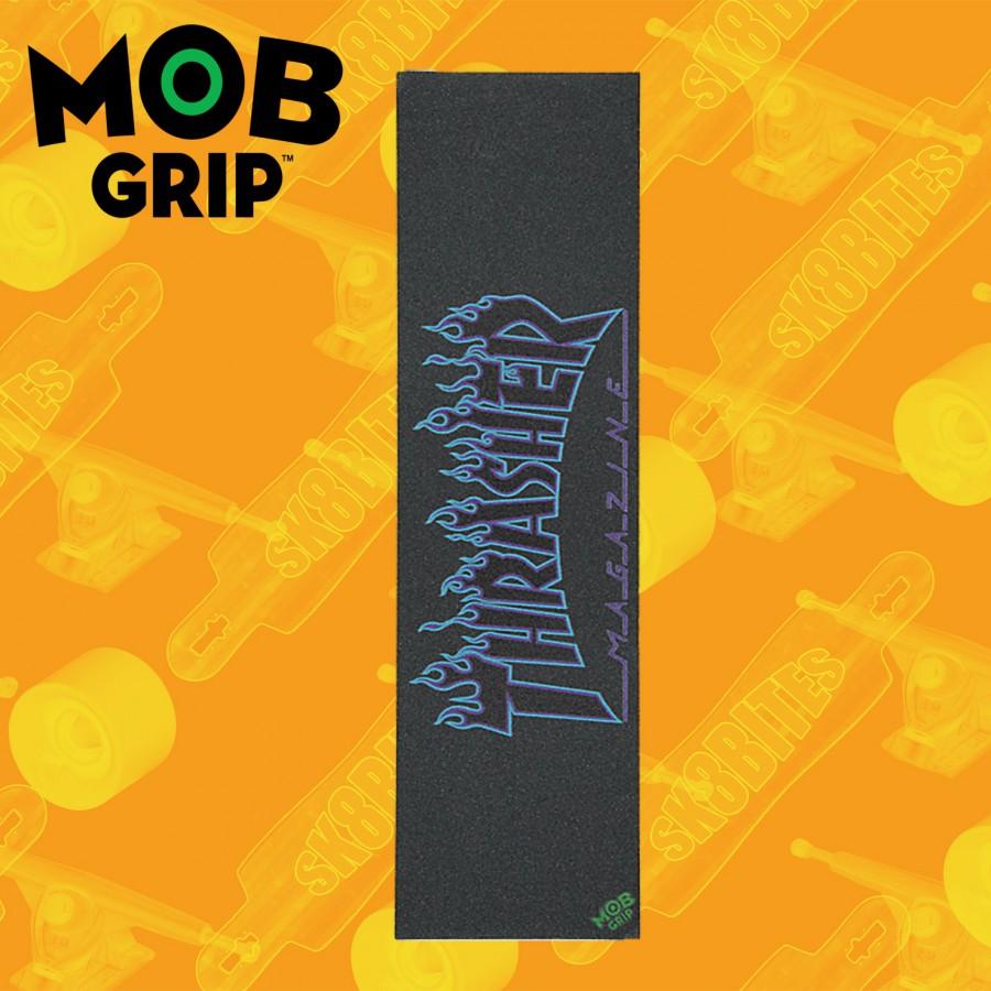 Santa Cruz Mob Grip Tape Santa Cruz Dot Clear 9in x 33in  Griptape Adesivo Skateboard Street