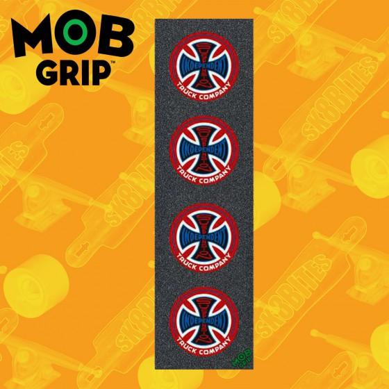 "Mob Griptape Thrasher Magazine Blu 9''x33"" Graphic Skateboard Grip"