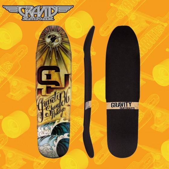 """Jet Overkill 34,5"""" Longboard Skateboard Techslide Pool Deck"""