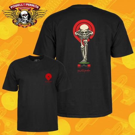 Powell Peralta Skull & Sword T-shirt Black Maglietta Skateboard Longboard Streetwear