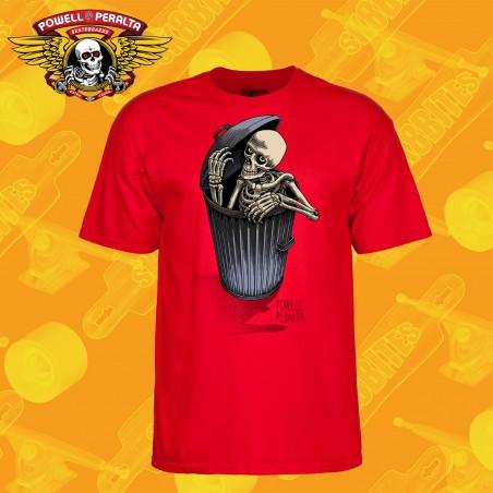 Powell Peralta Skull & Sword T-shirt Navy Longboard Skateboard Apparel
