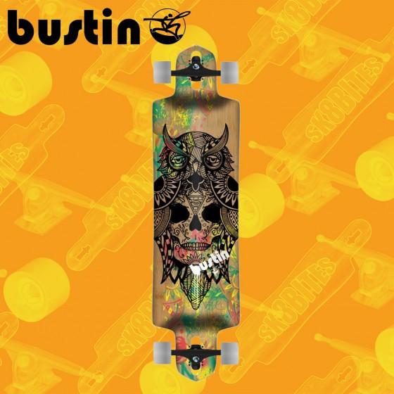 "Bustin Sportster PRO 37"" Tavola Longboard Completa Cruising  Freride"