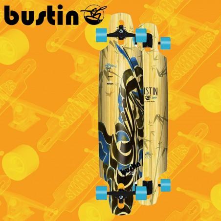 "Bustin Reflex Series Mission Sakura 40"" Tavola Longboard Completa Cruising  Carving"