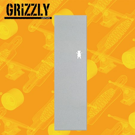 "Grizzly CLEAR 10"" CUT OUT Grip Adesivo Skateboard Street"