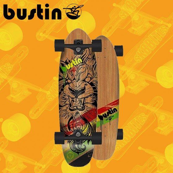 "Bustin Bonsai Tako 29,2"" Longboard Freeride Cruising Deck"