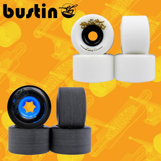 Bustin Sniper Five-O Wheels - 69mm/80a Longboard Slide Wheels