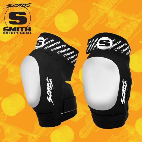 Smith Scabs Elite II Longboard Skateboard Knee Pads