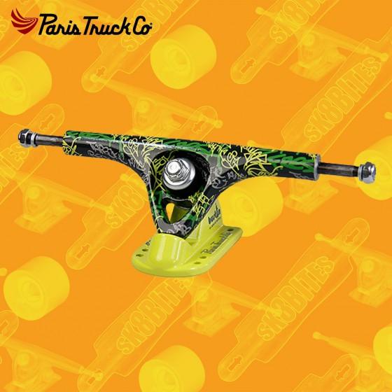 Paris Bustin Black Matt 50° 180mm Longboard Freeride Slide Truck