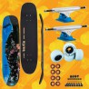 "Darkstar Meka Keep Pushing 8.125"" Red Pacchetto Skateboard Street"