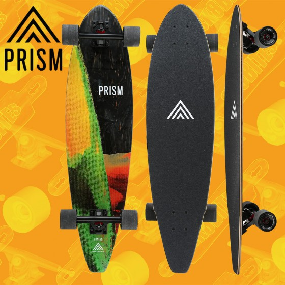 """Bustin Surfing Tribute Pintail Bamboo 36"""" Tavola Completa Longboard Cruising Carving"""