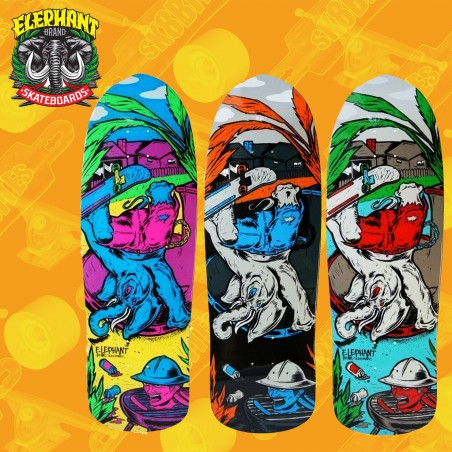 "Elephant BBQ Session 9,75"" Tavola Skateboard Oldschool"