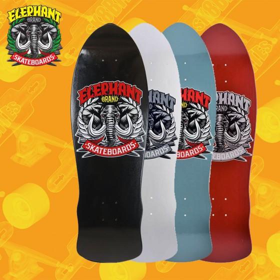 "Elephant BBQ Session 9,75""  Skateboard Oldschool Deck"