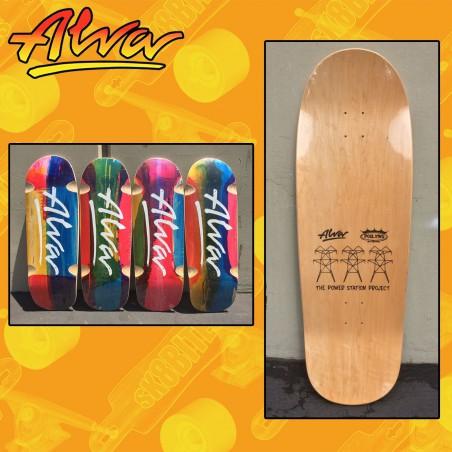 "Alva The Abstrakt Series 33"" 5 Number 10 Tavola Skateboard Oldschool"