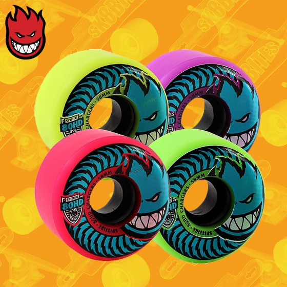 Spitfire Conical Chargers 80HD 58mm Afterburner 99D Ruote Skateboard Street
