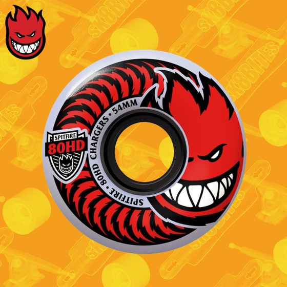 Spitfire Classic 80HD Chargers 54mm Ruote Skateboard Street