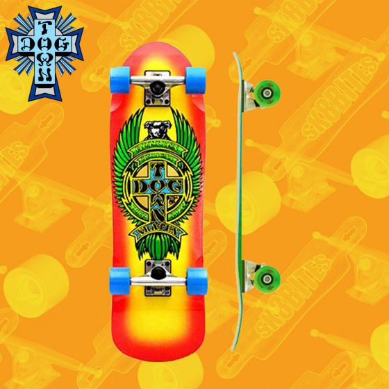 """Dogtown Death To Invaders Cruiser 8.5"""" Tavola Longboard Completa Cruising  Carving"""