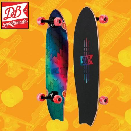 "DB Longboards Harbinger 32"" Tavola Longboard Completa Cruising  Carving"