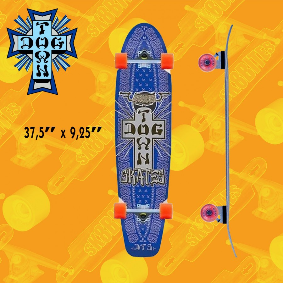 """Dogtown Death To Invaders Cruiser 37"""" Tavola Longboard Completa Cruising  Carving"""