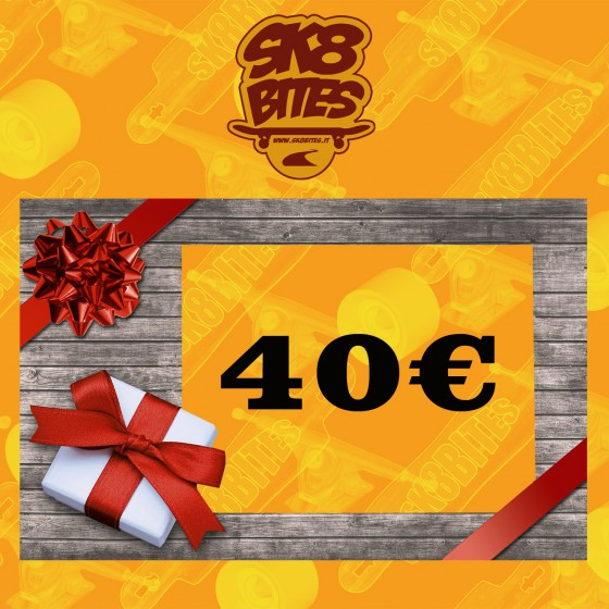 Gift Card 40 Euro