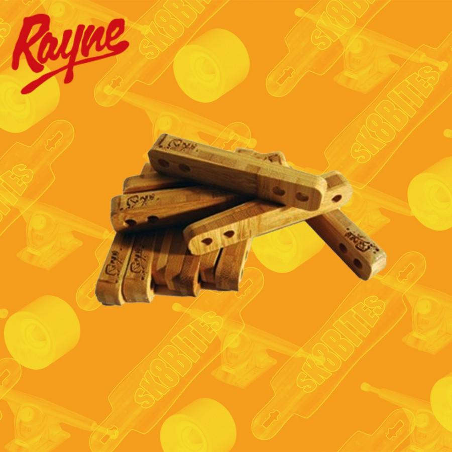 Rayne Flat 1/4 Rail Risers Spessori Attacchi Skateboard Longboard