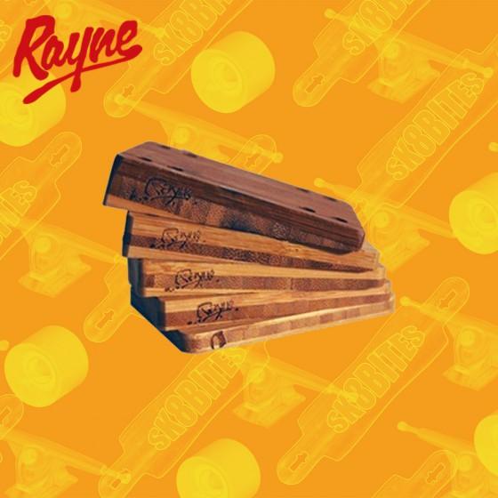 Rayne Flat 1/4 Risers Longboard Skateboard Trucks