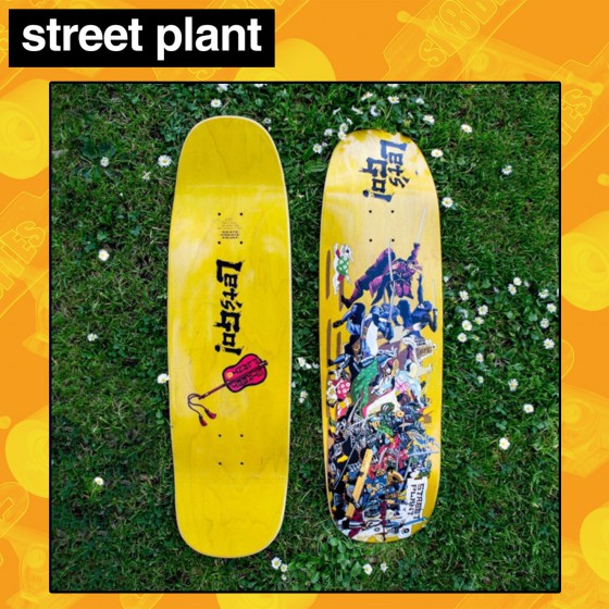 "Street Plant Battalion Let's Go Deck 9"" Tavola Skateboard Street"