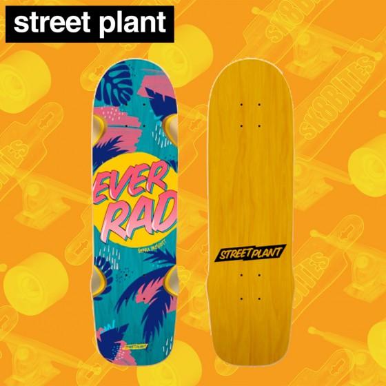 "Street Plant Vallely Modern Bigfoot Barnyard 8,375"" Tavola Oldschool Skateboard Street"