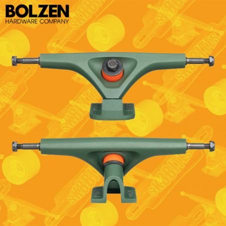 Bolzen Trucks V2 180mm 50° Pink Longboard Freeride Slide Truck