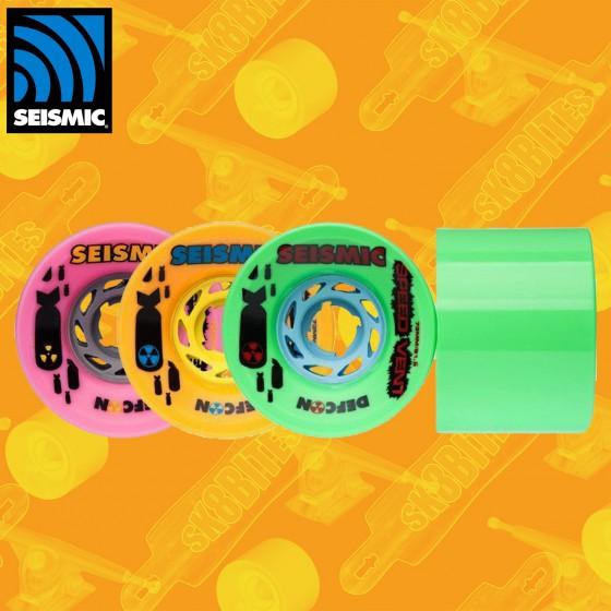 Seismic Speed Vents DefCon 73mm Ruote Longboard Slide Freeride
