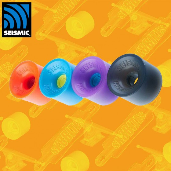 Seismic Speed Vents DefCon 73mm Ruote Longboard Slide Freeride