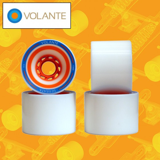 Volante Serrata 72mm Ruote Longboard Freeride Slide