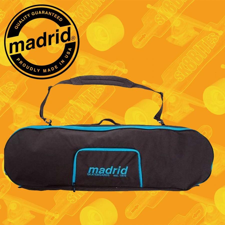 Madrid Bag Black Blue Borsa Longboard Freeride Downhill