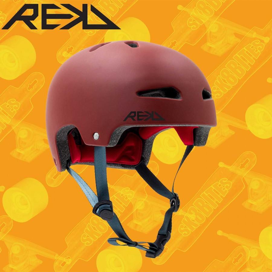 Rekd Ultralite In Mold Helmet Black Casco Skateboard Longboard Bike Freeride Slide