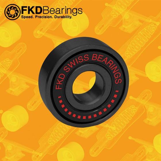 FKD Swiss Gold Cuscinetti Skateboard Street Longboard